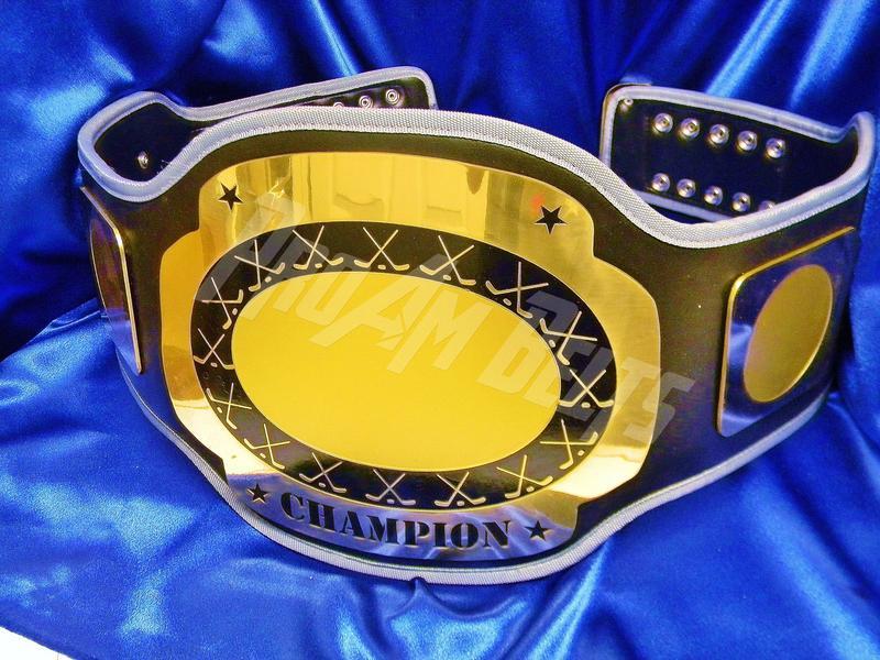 Customizing Championship Title Stock Belts and